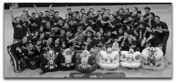 Group Photo 2009 | Beyond The Pride Lion Dance Xhibition 2011